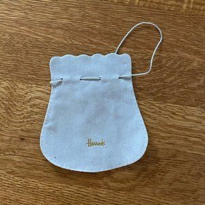Authentic Suede Harrods Bag from London